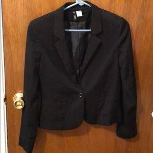Jackets & Blazers - Black cropped blazer